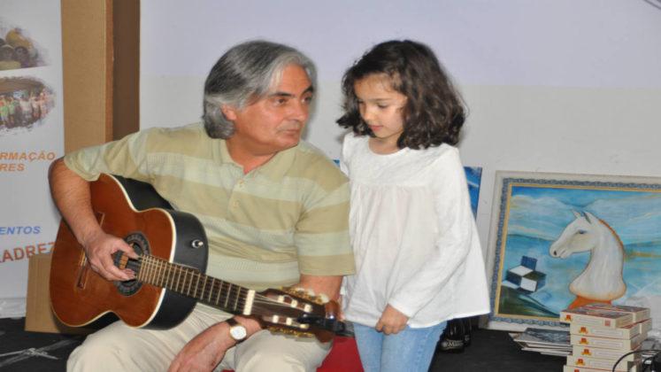 A música de Laureano Pereira encantou os presentes